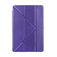 Pouzdro pro Apple iPad mini 4 - funkce chytrého uspání + stojánek - fialové