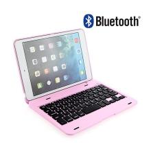 Klávesnice Bluetooth 3.0 s krytem pro Apple iPad mini / mini 2 / mini 3 - růžová