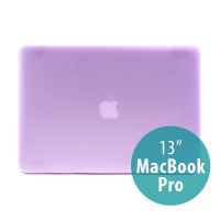 Tenký ochranný plastový obal pro Apple MacBook Pro 13 (model A1278) - matný - fialový