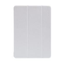 Pouzdro ENKAY pro Apple iPad Air 1 / 9,7 (2017-2018) - stojánek + funkce chytrého uspání - elegantní textura - bílé