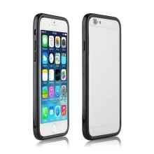 Ochranný plasto-gumový rámeček / bumper pro Apple iPhone 6 - černý