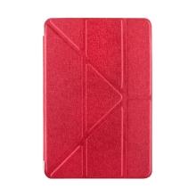 Pouzdro pro Apple iPad mini 4 - funkce chytrého uspání + stojánek - červené