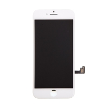 LCD panel + dotykové sklo (touch screen digitizér) pro Apple iPhone 8 - bílý - kvalita A+