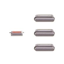 Sada postranních tlačítek / tlačítka pro Apple iPhone 6S (Power + Volume + Mute) - vesmírně šedá (Space Gray) - kvalita A+