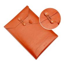 Pouzdro / obal SOYAN pro Apple MacBook 12 Retina - obálka / umělá kůže - hnědé