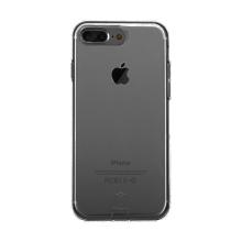 Kryt Baseus pro Apple iPhone 7 Plus / 8 Plus gumový / antiprachové záslepky - černý průhledný