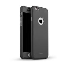 Kryt IPAKY pro Apple iPhone 6 / 6S - celotělový - plastový - černý