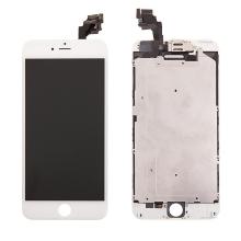 LCD panel + dotykové sklo (touch screen digitizér) pro Apple iPhone 6 Plus - osazený bílý - kvalita A+