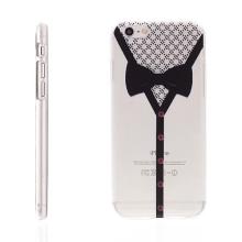 Plastový kryt pro Apple iPhone 6 / 6S - průhledný - motýlek