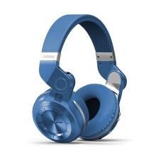 Sluchátka Bluedio T2 bezdrátová Bluetooth 4.1 - modrá