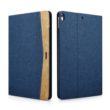 Pouzdro XOOMZ pro Apple iPad Pro 10,5 - stojánek + funkce chytrého uspání - látkové - modré