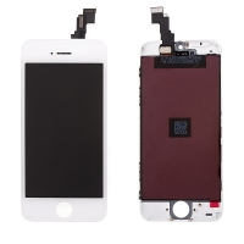 LCD panel + dotykové sklo (touch screen digitizér) pro Apple iPhone 5C - bílý - kvalita A