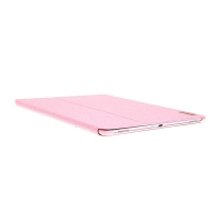 Pouzdro DEVIA pro Apple iPad Pro 12,9 / 12,9 (2017) - stojánek + funkce chytrého uspání - růžové