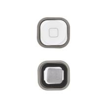 Tlačítko Home Button se silikonovou podložkou pro Apple iPod touch 5.gen. - bílé - kvalita A+