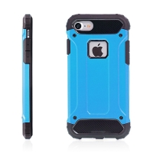 Kryt pro Apple iPhone 7 / 8 plasto-gumový / antiprachová záslepka - modrý