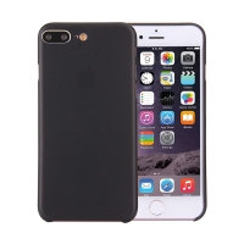 Kryt / obal pro Apple iPhone 7 Plus / 8 Plus chrana čočky - plastový / tenký - černý