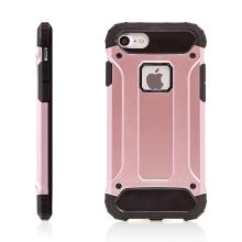 Kryt pro Apple iPhone 7 / 8 plasto-gumový / antiprachová záslepka - růžový