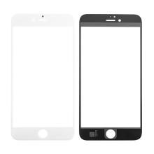 Náhradní přední sklo pro Apple iPhone 6S Plus - bílý rámeček - kvalita A