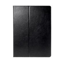 Pouzdro pro Apple iPad Pro 12,9 - integrovaný stojánek a prostor na doklady - černé