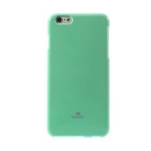 Kryt Mercury Goospery pro Apple iPhone 6 Plus / 6S Plus gumový - tyrkysový s třpytivými prvky