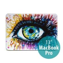 Obal pro Apple MacBook Pro 13 A1278 plastový - barevné oko