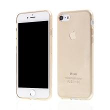 Kryt pro Apple iPhone 7 / 8 gumový tenký ochranný - zlatý