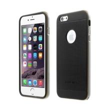 Gumové kryty LOVE MEI AEGIS (sada 2ks) pro Apple iPhone 6 / 6S + stříbrný oddělitelný rámeček