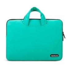 Brašna Bafewld Jazz se zipem pro Apple MacBook Air / Pro 13 - modro-zelená