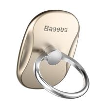 Stojánek / prsten BASEUS pro Apple iPhone - kovový - zlatý / stříbrný
