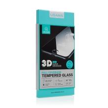 Tvrzené sklo (Tempered Glass) USAMS pro Apple iPhone 7 - 3D okraj - na přední část - černé - 0,3mm