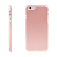 Kryt Mercury iJelly pro Apple iPhone 6 / 6S gumový růžově zlatý