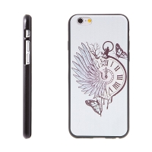 Kryt pro Apple iPhone 6 / 6S gumový - hodinky