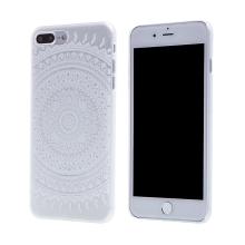Kryt pro Apple iPhone 7 Plus / 8 Plus - plastový - průhledný / mandala