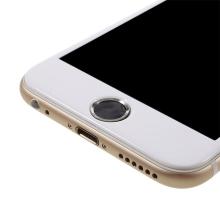 Samolepka na tlačítko Home Button Apple iPhone / iPad - podpora / zachování funkce Touch ID - černá / stříbrná