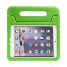 Pouzdro pro děti pro Apple iPad Air 1 / Air 2 / 9,7 (2017-2018) - rukojeť / stojánek - pěnové - zelené