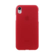 Kryt pro Apple iPhone Xr - gumový - matný - červený