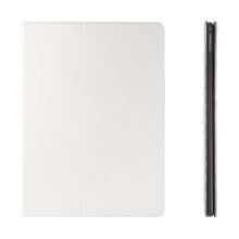 Pouzdro pro Apple iPad Pro 12,9 - integrovaný stojánek a prostor na doklady - bílé