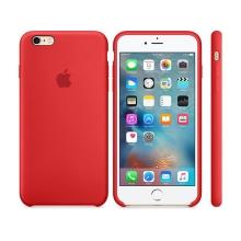 Originální kryt pro Apple iPhone 6 Plus / 6S Plus - silikonový - červený
