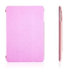 Tenké ochranné pouzdro se Smart Coverem pro Apple iPad mini / mini 2 / mini 3 - růžové