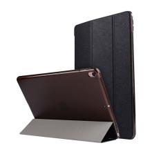 Pouzdro / kryt pro Apple iPad Pro 10,5 - funkce chytrého uspání + stojánek - elegantní textura - černé