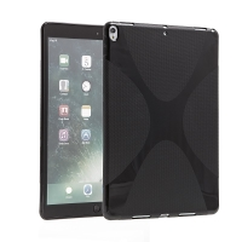 Kryt / obal pro Apple iPad Pro 10,5 - s motivem X - gumový - černý