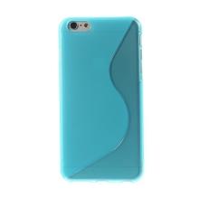 Kryt S line pro Apple iPhone 6 Plus / 6S Plus gumový protiskluzový - modrý