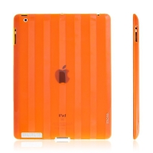 Ochranné pouzdro pro Apple iPad 2. / 3. / 4.gen. - More - oranžové