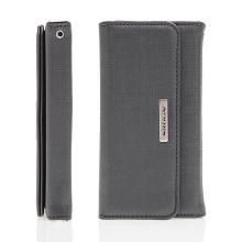 Luxusní peněženka / pouzdro Nillkin Bazaar pro Apple iPhone 6 / 6S - poutko na ruku - černé