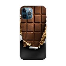 Kryt pro iPhone 12 Pro Max - gumový - tabulka čokolády