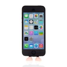 Antiprachová záslepka / stojánek 3D botky pro Apple iPhone / iPod touch - Lightning konektor - růžová