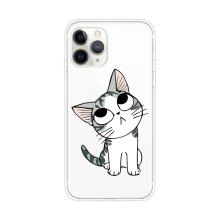 Kryt pro Apple iPhone 11 Pro Max - gumový - vzhlížející kotě
