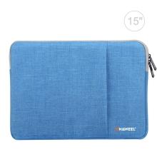 "Pouzdro se zipem HAWEEL pro Apple MacBook Pro 15"" / Pro 16"" - postranní kapsa - modré"
