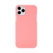 Kryt MERCURY Soft Feeling pro Apple iPhone 11 Pro Max - silikonový - růžový