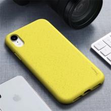 Kryt IPAKY pro Apple iPhone Xr - gumový - žlutý